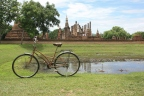 Cycling in the Sukhothai Historical Park